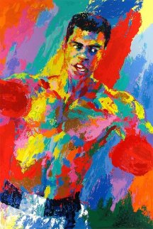 Muhammad Ali - Athlete of the Century w remarque Limited Edition Print by LeRoy Neiman