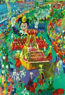 Mardi Gras Parade - New Orleans 2002 Limited Edition Print - LeRoy Neiman