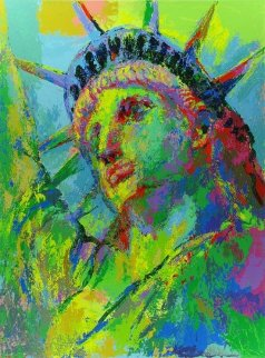 Portrait of Liberty 2008 Limited Edition Print by LeRoy Neiman