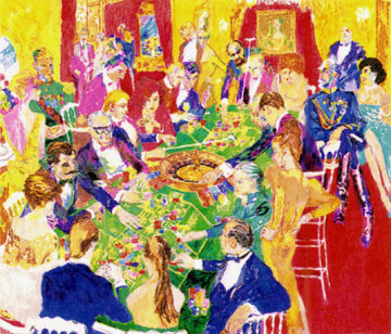 Baden - Baden 1987 Limited Edition Print by LeRoy Neiman