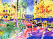 Place du Casino Monte Carlo 1982 Limited Edition Print by LeRoy Neiman - 1