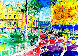 Place du Casino Monte Carlo 1982 Limited Edition Print by LeRoy Neiman - 0