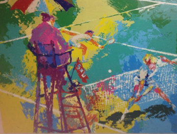 Sudden Death 1973 Limited Edition Print by LeRoy Neiman