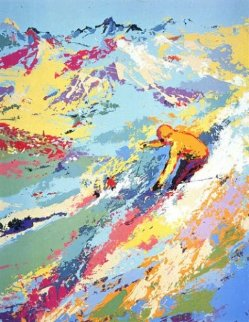Alpine Skiing Limited Edition Print by LeRoy Neiman