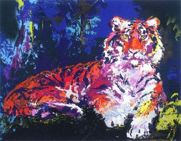 Caspian Tiger 1986 Limited Edition Print - LeRoy Neiman