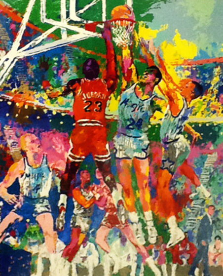 Orlando Magic 1990 Limited Edition Print by LeRoy Neiman