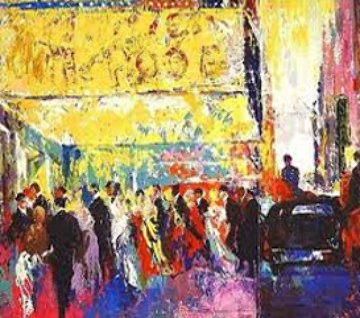 Opening Night on Broadway 2003 Limited Edition Print by LeRoy Neiman