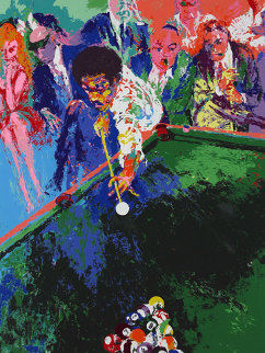 Black Break 1973 Limited Edition Print - LeRoy Neiman