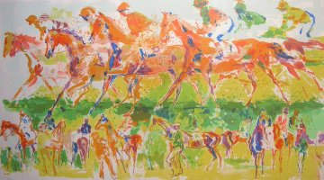 Racing 1973 Limited Edition Print - LeRoy Neiman