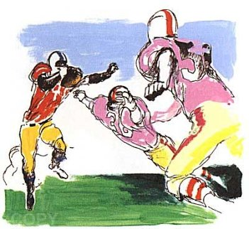 Scampering Back 1995 Limited Edition Print by LeRoy Neiman