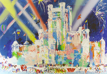Ice Castle 1985 Limited Edition Print - LeRoy Neiman