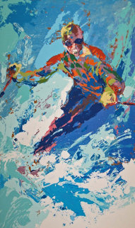 Skier  Limited Edition Print - LeRoy Neiman