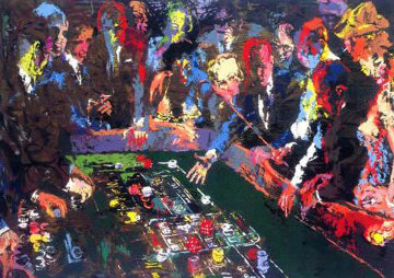 Vegas Craps 1982 Limited Edition Print by LeRoy Neiman