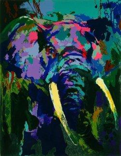 Portrait of an Elephant 2003 Limited Edition Print - LeRoy Neiman