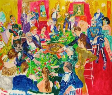 Baden-Baden 1987 Limited Edition Print by LeRoy Neiman