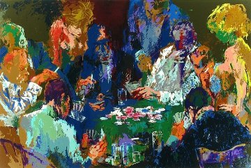 International Poker 2004 Limited Edition Print - LeRoy Neiman