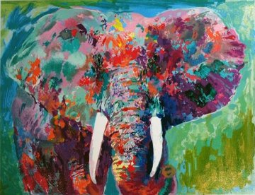Charging Bull 2006 Limited Edition Print by LeRoy Neiman