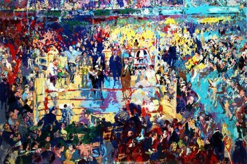 Introduction of the Champions At Madison Square Garden 1977 Limited Edition Print by LeRoy Neiman