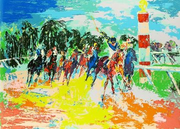 Florida Racing AP 1974 Limited Edition Print by LeRoy Neiman