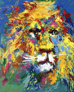 Lion And Lioness 2007 Limited Edition Print - LeRoy Neiman