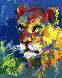 Lion And Lioness 2007 Limited Edition Print by LeRoy Neiman - 1