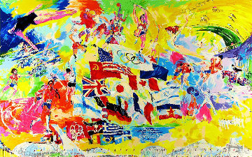 Montreal '76  1976 Limited Edition Print - LeRoy Neiman