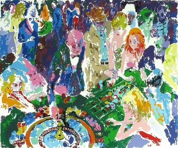 Casino 1972 Limited Edition Print - LeRoy Neiman