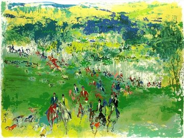 Fox Hunt 1974 Limited Edition Print - LeRoy Neiman