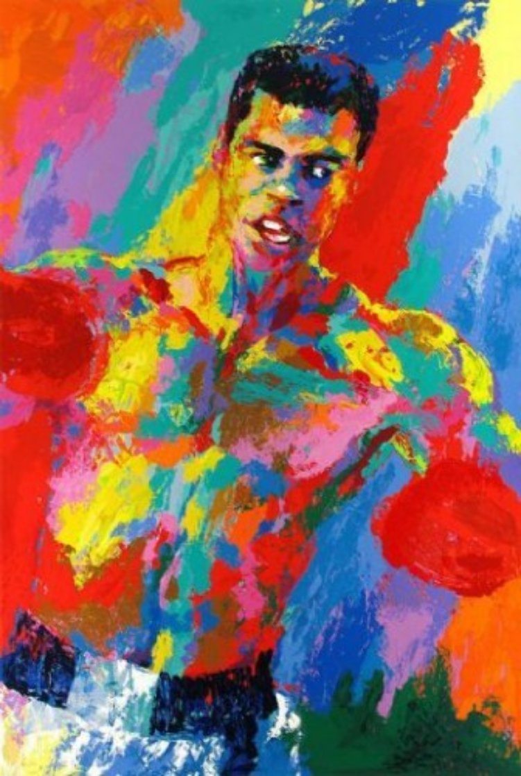 Muhammed Ali (Athlete of the Century) 2001 HS By Ali Limited Edition Print by LeRoy Neiman