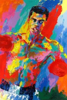 Muhammed Ali (Athlete of the Century) 2001 HS By Ali Limited Edition Print - LeRoy Neiman