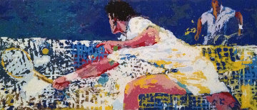 Ped Lob 1973 Limited Edition Print - LeRoy Neiman
