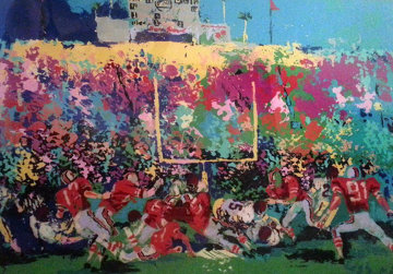 Rose Bowl from Buckeye Suite 1975 Limited Edition Print by LeRoy Neiman