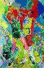 Magic Johnson 1988 Limited Edition Print by LeRoy Neiman - 0