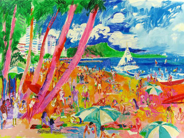Diamond Head AP 1988 Limited Edition Print - LeRoy Neiman