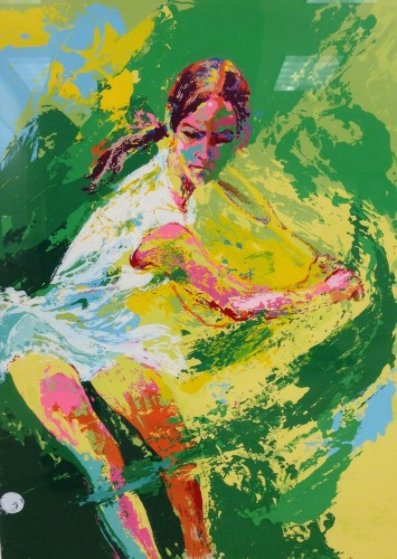 Backhand 1974 (Chris Evert) Limited Edition Print by LeRoy Neiman