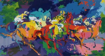Race I 1972 Limited Edition Print - LeRoy Neiman