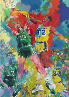 Magic Johnson 1988 Limited Edition Print by LeRoy Neiman