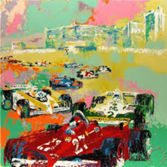 Caesars' Palace Grand Prix 1986 Limited Edition Print by LeRoy Neiman