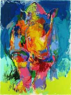Rhino 2006 Limited Edition Print by LeRoy Neiman