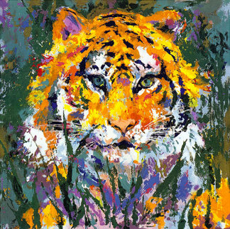Portrait of the Tiger 1998 Limited Edition Print - LeRoy Neiman