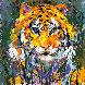 Portrait of the Tiger 1998 Limited Edition Print by LeRoy Neiman - 0
