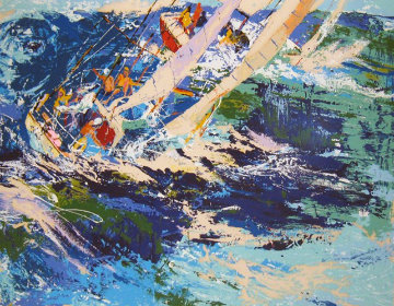 High Sea Sailing 1976 Limited Edition Print by LeRoy Neiman