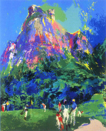 International Foursome 1985 Limited Edition Print by LeRoy Neiman