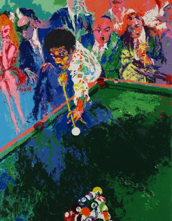 Black Break 1973 Limited Edition Print by LeRoy Neiman