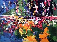Ascot Finish 1974 Limited Edition Print by LeRoy Neiman - 0