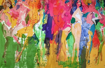 Panteras 1981 Limited Edition Print by LeRoy Neiman