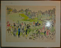 Hunter Trials 1977 Limited Edition Print by LeRoy Neiman - 1