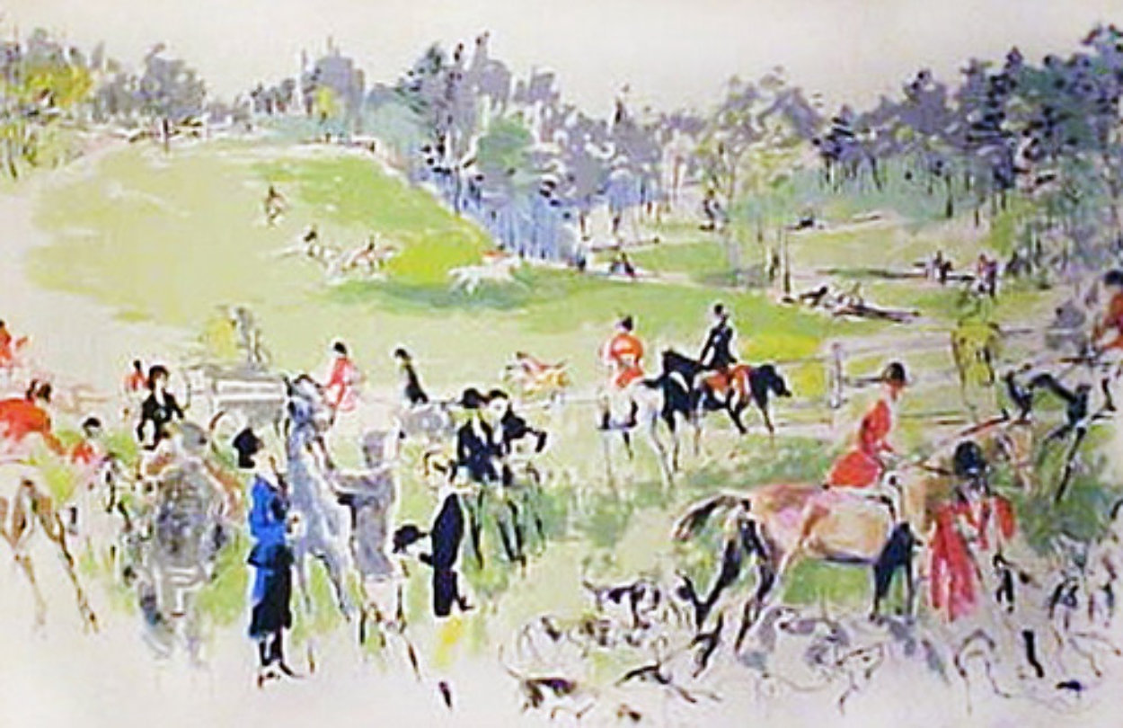 Hunter Trials 1977 Limited Edition Print by LeRoy Neiman