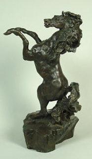 Defiant Bronze Sculpture 1988 Sculpture - LeRoy Neiman