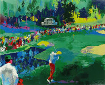 16th At Augusta 1991 Limited Edition Print by LeRoy Neiman